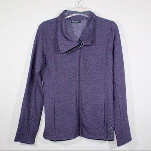 Tuff Athletics Asymmetrical Zip Jacket